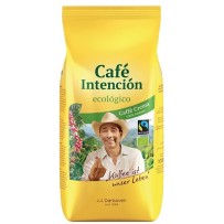Café Intención ecológico Bio Café Crema, 1000g  v zrnju