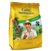 Café Intención ecológico Bio, 36 Pads