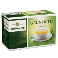 Bünting Tee Bio Grüner Tee, 20 vrečk