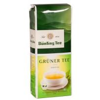 Bünting Tee Bio Grüner Tee, 250g brez vrečke