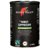 Mount Hagen Bio Family Cappuccino, 400g instant kava