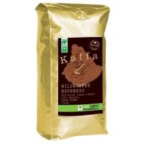 KAFFA Bio Wildkaffee Espresso, 1000g v zrnju