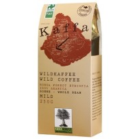 KAFFA Bio Wildkaffee Mild, 250g v zrnju