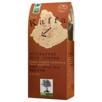 KAFFA Bio Wildkaffee Medium, 250g v zrnju
