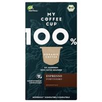My-CoffeeCup Bio Espresso Fortissimo, Nespresso® System, 10 kapsul