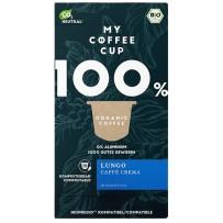 My-CoffeeCup Bio Lungo Caffé Crema, Nespresso® System, 10 kapsul
