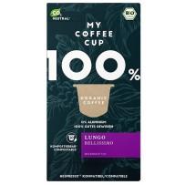 My-CoffeeCup Bio Lungo Bellissimo, Nespresso® System, 10 kapsul