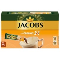 Jacobs Caramel 3 in 1, 10 porcij instant