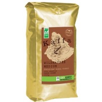 KAFFA Bio Wildkaffee Medium, 1000g v zrnju