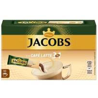Jacobs Typ Café Latte 3 in 1, 10 porcij instant