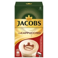 Jacobs Typ Cappuccino Sticks, 8 porcij instant