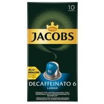 Jacobs Decaffeinato Lungo, 10 kapsul