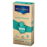 Mövenpick Gusto Italiano Lungo Green Cap, 10 kapsul