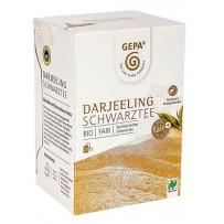 GEPA Bio Darjeeling Schwarztee, 20 vrečk