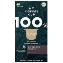 My-CoffeeCup Bio Ristretto Italiano, Nespresso® System, 10 kapsul