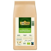 Jacobs Professional Bio Good Origin Espresso, 1000g v zrnju