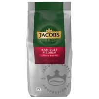 Jacobs Professional Banquet Medium Café Crema, 1000g v zrnju