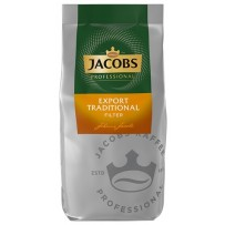Jacobs Professional Export Traditional Filterkaffee, 1000g mleta