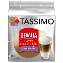 Tassimo Gevalia Latte Macchiato manj sladkorja